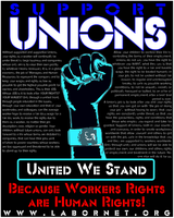 UNIONS - United We Stand by Activists