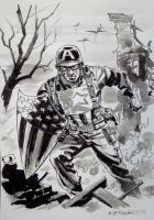 WWII Ult. Captain America by BillReinhold