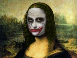 Smile! Mona Lisa. by apbaron