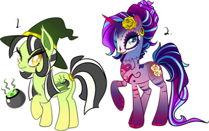 Nightmare Night Adoptables: CLOSED by oCrystal