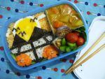 sunrise paddy field bento by plainordinary1