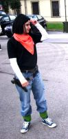 Lucca Comics and Games 2012 - Android 17 cosplay by pgv