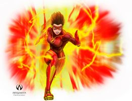 Lady Flash by aslanman