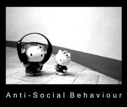 Anti-Social Behaviour by JudasKiss
