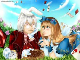 Alice and Peter White by RedLotosGuren