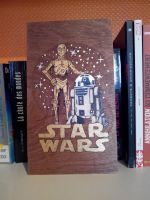 StarWars - R2D2 and C3PO - pyrography - V2 by tokita59