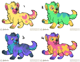 Wolf Pup Adopts: 15 points OPEN by RubyAdopts
