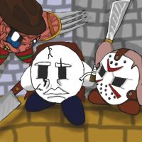 Horror Slashers - Kirby Style by dragonfire53511