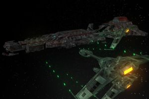 Klingons Attacking by connorz16