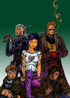 The WILDC.A.T.S by scribblyscribble