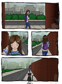 MEg: Page One: The Morning Walk by FourMapleLeaf