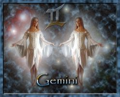 Gemini by WiccanSilver
