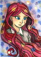 ACEO 36: Antimony by SailingBreezes