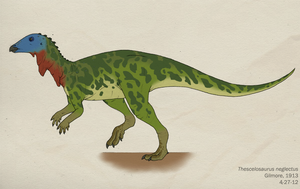 034--THESCELOSAURUS NEGLECTUS by Green-Mamba