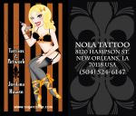 Business Card Comission by sexyillustrator