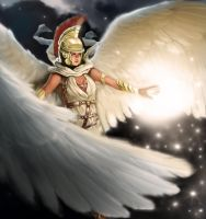Guardian Angel by laclillac