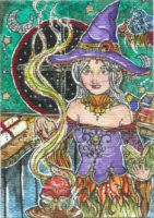 Spell Cast (ACEO) by Keyshe54