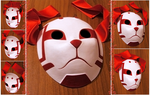 custom Sai's Root ANBU mask | COMMISSION by MajorasMasks