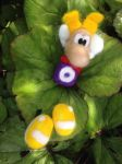 Needle Felted Rayman 01 by raygirl