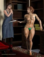Married to Muscle_ Young Muscle - The Physical by rainbowscriber