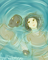 poussey and soso by featherdusters