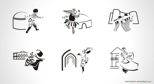 pictogram- Anthropology Museum by AzinGraphic