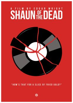 Shaun of the Dead - Record by soopernoodles