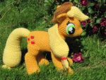 Applejack by NerdyKnitterDesigns