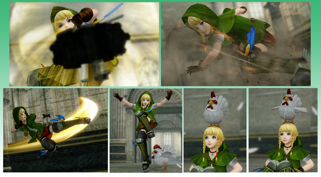 Hyrule Warriors *Linkle's new Boots* by gaming123456