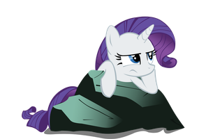 Rarity Is Bored Vector by Takua770