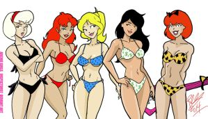 Archie Girls by Inspector97