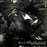 Abstract Brush Set 2 by LivanaStock