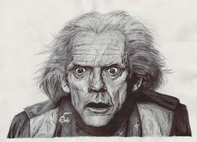 Doc Brown by neoyurin