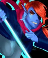 Dying for Undyne by pixu-ru