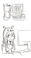 The Struggle is real. by KingNeroche