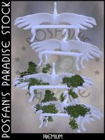 PC 014 - Snow Swan Bench by poserfan-stock