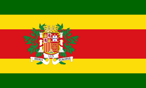 Proposal for an Iberian Flag by Clawfiren