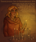 Transgender Day of Remembrance 2014 by ErinPtah