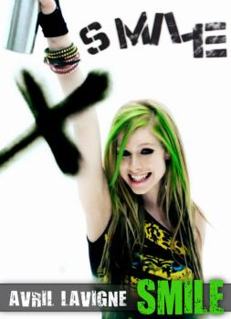 Avril Lavigne : smile by AxteleraRay-Core