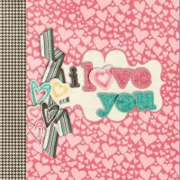 Textura I love you ~ by SuperstarElevate