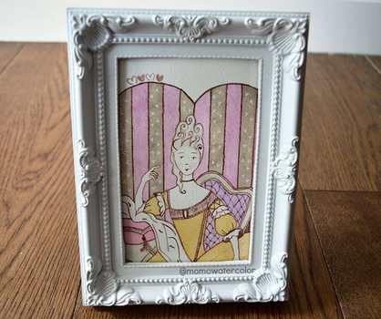 .: Marie Antoinette :. by Momowatercolor