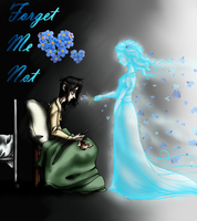 Forget Me Not Color by Chrissyissypoo19
