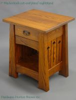 Mackintosh nightstand ash by DryadStudios