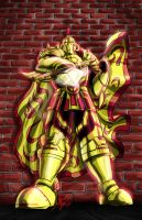 Gold Knight by imagesbyalex