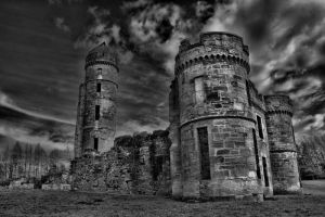 Eglinton Castle Remains by Artistic-Dodger