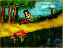Mad Hatter in Wonderland by Sherylis
