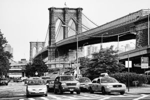 Brooklyn Bridge by Stilfoto