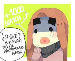 +1000 WATCHERS ?! by Nyugu