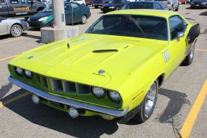 Yellow 'Cuda by KyleAndTheClassics