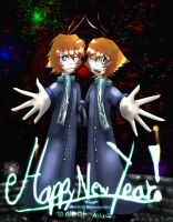 Happy New Year 2010 by Nin-Wolf